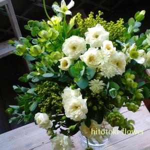 贈り物小花のブーケ