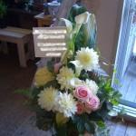 結婚式のお祝い花