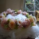 プリザーブドフラワーの花かんむり
