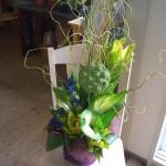 カフェの周年記念のお祝い花