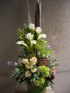 雑貨屋さんの開店お祝い花