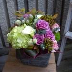 カフェの開店お祝い花