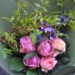 男性へ花束